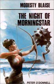 Cover of: Night of Morningstar by Peter O'Donnell