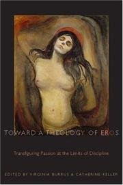 Cover of: Toward a Theology of Eros | Virginia Burrus