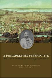 Cover of: A Philadelphia Perspective | Sidney George Fisher