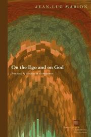 Cover of: On the Ego and on God (Perspectives in Continental Philosophy)