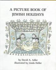 Cover of: A Picture Book of Jewish Holidays