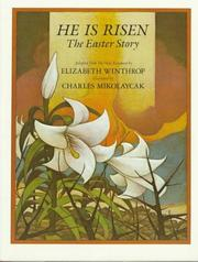 Cover of: He is risen: the Easter story