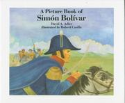 Cover of: A picture book of Simón Bolívar