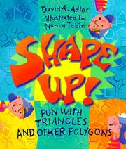 Cover of: Shape up!: Fun with Triangles and Other Polygons