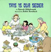 Cover of: This is our Seder | Ziporah Hildebrandt