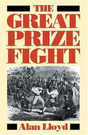 Cover of: The great prize fight