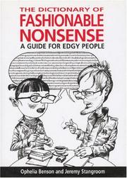 Cover of: The dictionary of fashionable nonsense