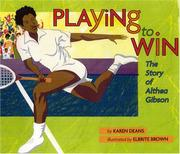 Cover of: Playing to win