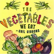 Cover of: The Vegetables We Eat