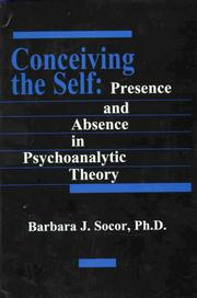 Cover of: Conceiving the self