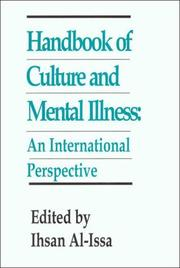 Cover of: Handbook of Culture and Mental Illness | Ihsan Al-Issa
