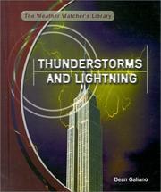 Cover of: Thunderstorms and lightning