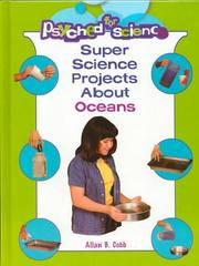 Cover of: Super science projects about oceans