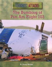 Cover of: The Bombing of Pan Am Flight 103 (Terrorist Attacks) |