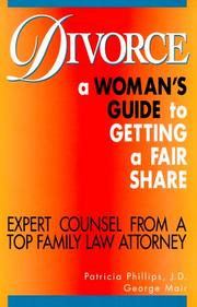 Cover of: Divorce: A Woman's Guide to Getting a Fair Share