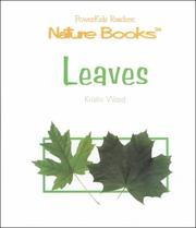 Cover of: Leaves (Nature Books (New York, N.Y.).)