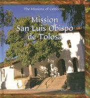 Cover of: Mission San Luis Obispo de Tolosa