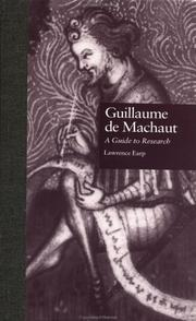 Guillaume de Machaut by Lawrence Marshburn Earp