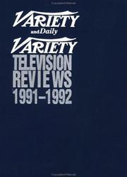 VARIETY TV REV 1991-92 17 (Variety Television Reviews)