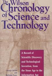 Cover of: The Wilson chronology of science and technology