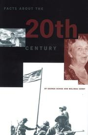 Cover of: Facts about the 20th century