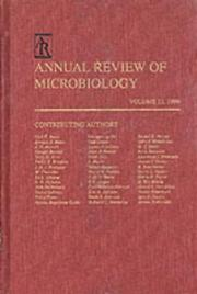 Annual Review of Microbiology