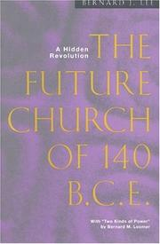 Cover of: The future church of 140 BCE