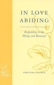 Cover of: In love abiding