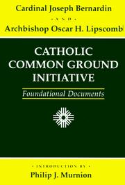 Cover of: Catholic Common Ground Initiative