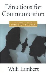 Cover of: Directions for communication