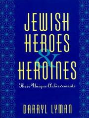 Cover of: Jewish heroes & heroines