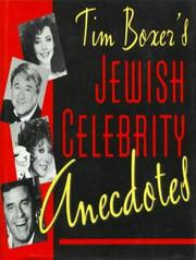 Cover of: Tim Boxer's Jewish celebrity anecdotes