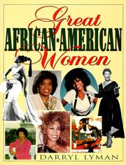 Cover of: Great African-American women