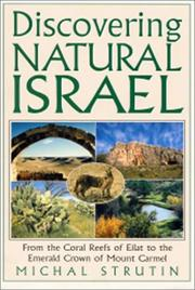 Cover of: Discovering Natural Israel | Michal Strutin