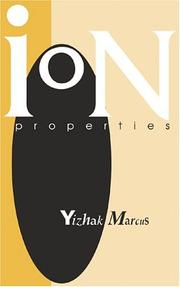 Cover of: Ion properties