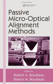 Cover of: Passive Micro-Optical Alignment Methods (Optical Engineering) |
