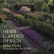 Cover of: Herb garden design