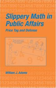 Cover of: Slippery Math in Public Affairs: Price Tag and Defense