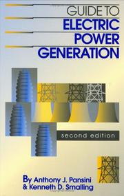 Cover of: Guide to Electric Power Generation