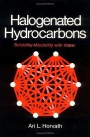 Cover of: Halogenated hydrocarbons
