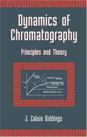 Cover of: Dynamics of chromatography