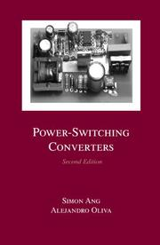 Cover of: Power-switching converters |