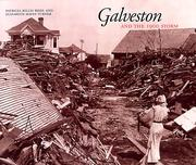 Cover of: Galveston and the 1900 storm