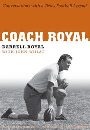 Cover of: Coach Royal | Darrell Royal
