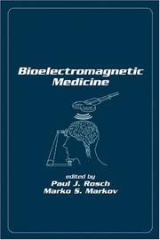 Cover of: Bioelectromagnetic medicine |