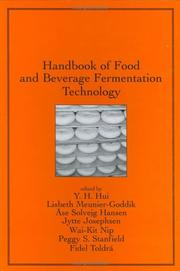 Cover of: Handbook of food and beverage fermentation technology |