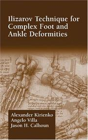 Ilizarov Technique for Complex Foot and Ankle Deformities (Oxidative Stress & Disease)
