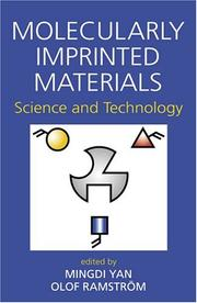 Cover of: Molecularly imprinted materials |