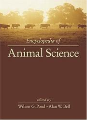 Cover of: Encyclopedia of animal science