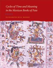 Cover of: Cycles of Time and Meaning in the Mexican Books of Fate (Joe R. and Teresa Lozano Long Series in Latin American and Latino Art and Culture)